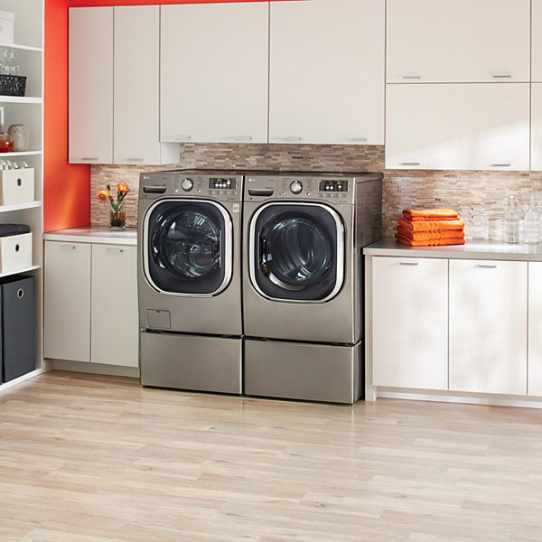washer load series cgi shown lg wash turbowash front pedestal ajmadison ft inch sold laundry bin with separately cu
