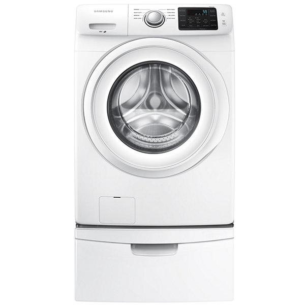 Samsung 4.2-cu ft High-Efficiency Stackable Front-Load Washer