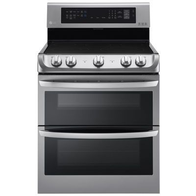 LG 7.3 cu. ft.  Freestanding Electric Double Oven Range with ProBake Convection®, EasyClean® and UltraHeat™ Element