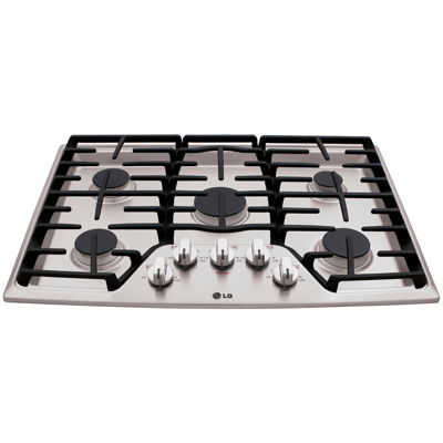 "LG 30"" Recessed Gas Cooktop with 5 Burners including 17K SuperBoil™ Burner"