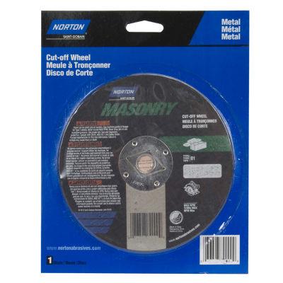 """Norton 89000 6.5"""" X 1/8"""" x DM-5/8"""" Circular Saw Reinforced Cut Off Blade"""