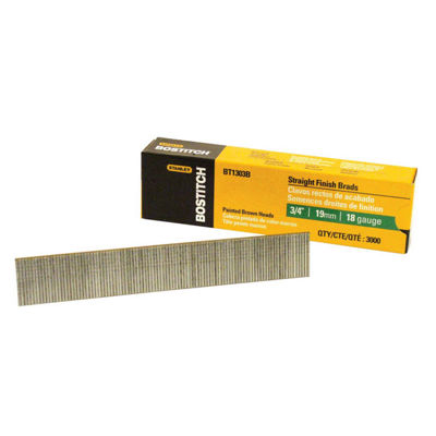 Bostitch Stanley BT1300B 5/8IN Brad Nails 3000 Count