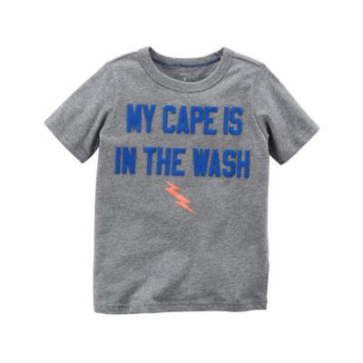 Carter's Graphic Short Sleeve T-Shirt-Preschool Boys