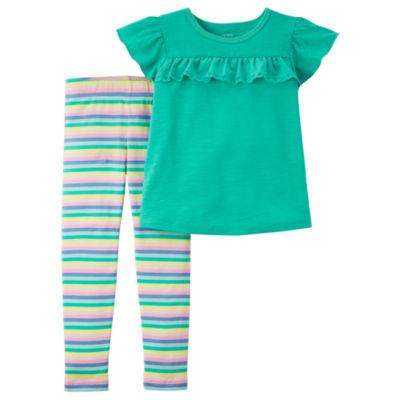Carter's 2-pack Legging Set-Toddler Girls