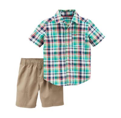 Carter's 2-pc. Short Set Baby Boys