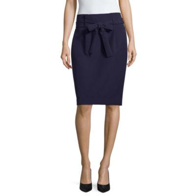 Liz Claiborne Tie Waist Pencil Skirt