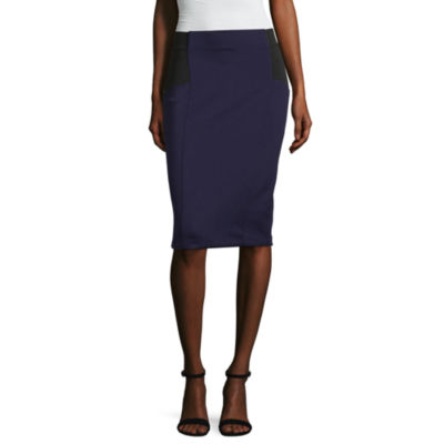 Project Runway Colorblock Bodycon Skirt