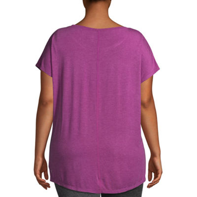 Gaiam® Short Sleeve Graphic T-Shirt - Plus