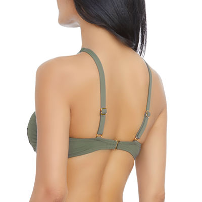 Ambrielle High Neck Swimsuit Top