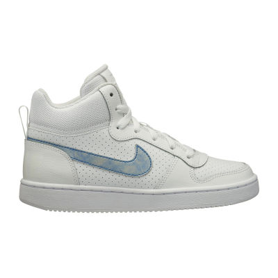 Nike Court Borough Mid Girls Sneakers Lace-up - Big Kids