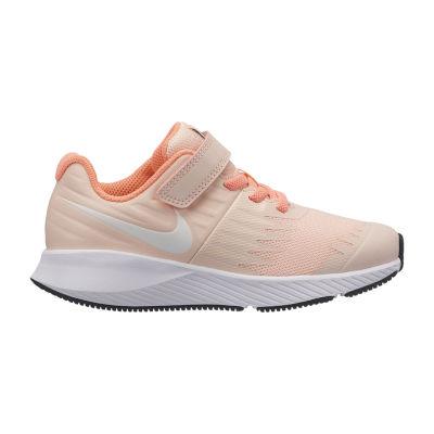 Nike Star Runner Girls Running Shoes Hook and Loop - Little Kids
