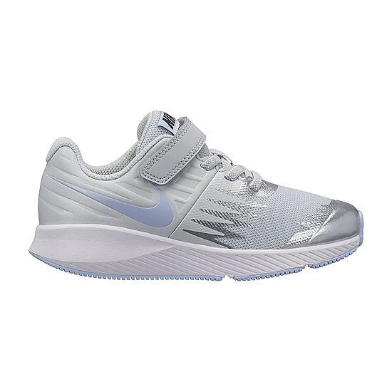 b541d50f34b0 Nike Star Runner Girls Running Shoes Hook and Loop - Little Kids - JCPenney