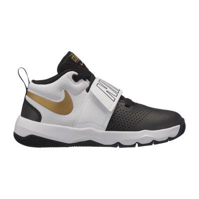 Nike Team Hustle D 8 Boys Basketball Shoes Lace-up