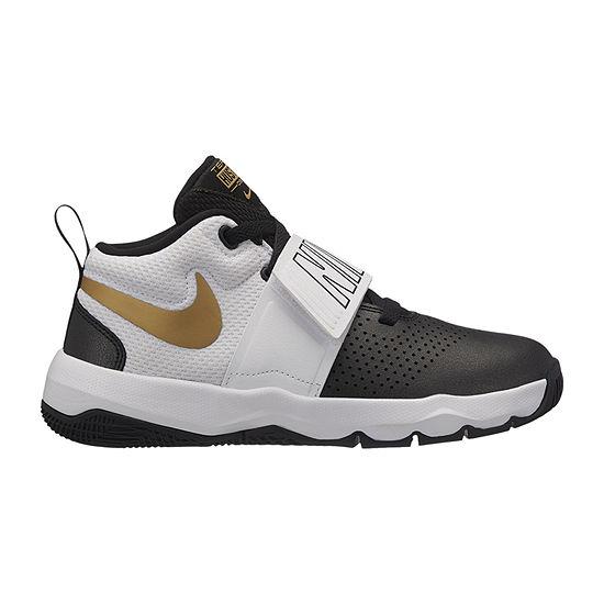 b8b5ca10033101 Nike Team Hustle D 8 Boys Basketball Shoes JCPenney