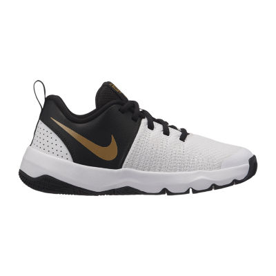 Nike Team Hustle Quick Boys Basketball Shoes - Big Kids