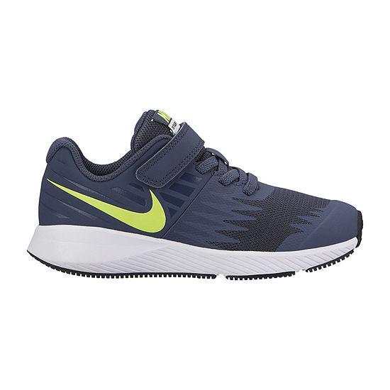 Nike Star Runner Little Kids Boys Hook and Loop Running Shoes