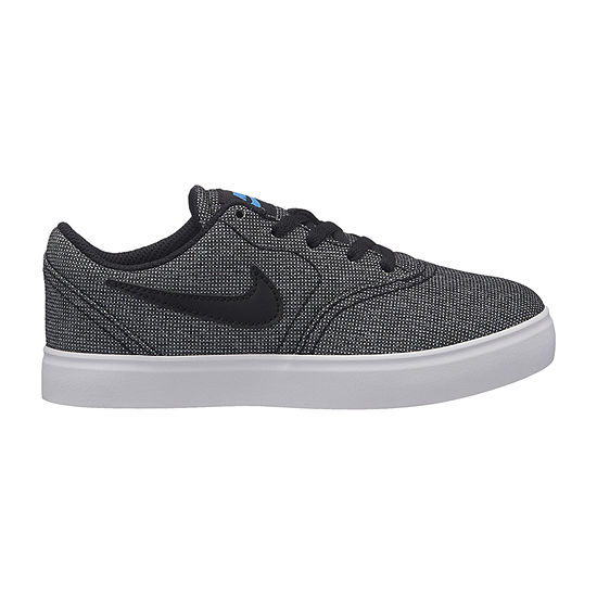 Nike Sb Check Boys Skate Shoes Lace-up - Little Kids