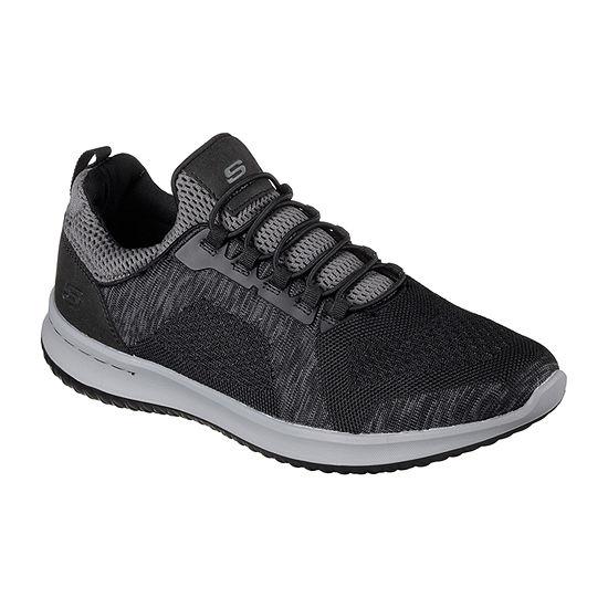 Skechers Mens Slip-On Shoe Round Toe