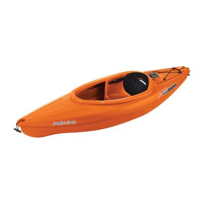 Sun Dolphin Aruba 8' ss Tangerine Sit-In Kayak. Paddle Included