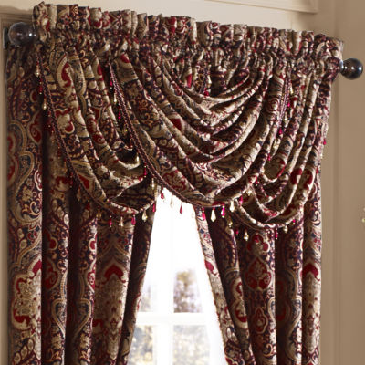 Five Queens Court Remington Waterfall Valance