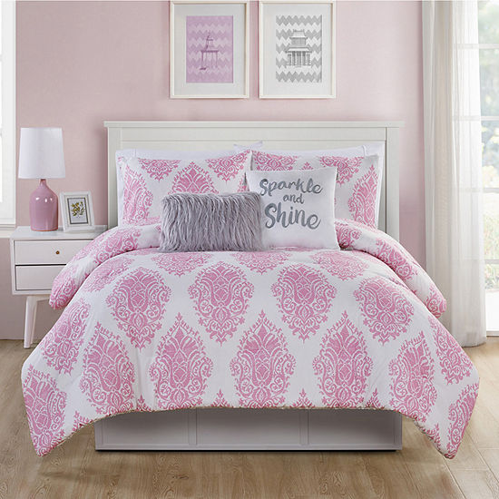 Vcny Love The Little Things Comforter Set