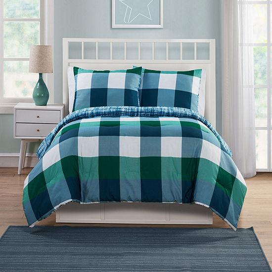 VCNY Quest Stripes Comforter Set