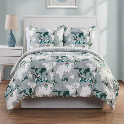 VCNY World Traveler Comforter Set