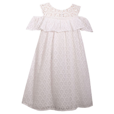Bonnie Jean Short Sleeve Party Dress - Toddler Girls
