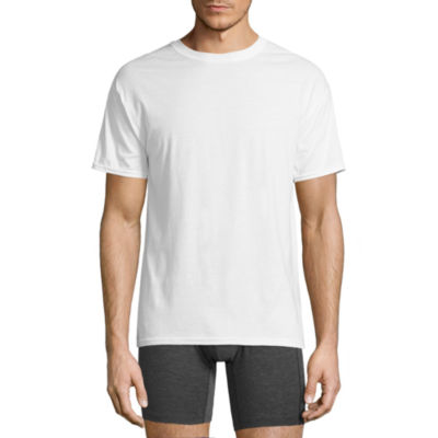 Hanes Comfortblend 4-pc. Short Sleeve Crew Neck T-Shirt