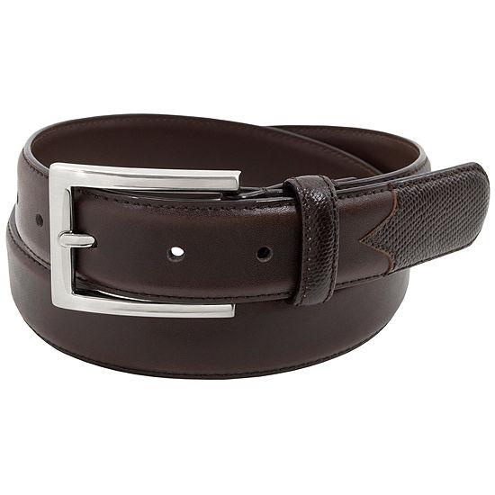 Stacy Adams® 32MM Lizard Embossed Leather Belt