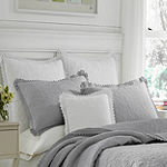 Laura Ashley Heirloom Crochet Quilt Set