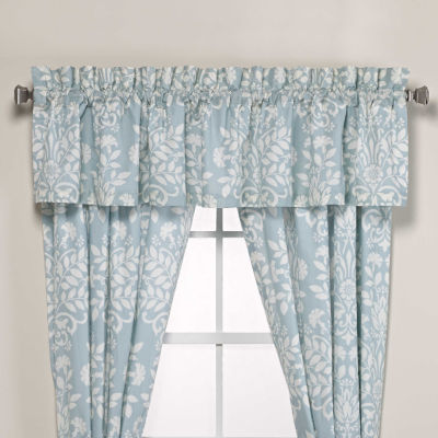 Laura Ashley Rowland Breeze Blue Valance