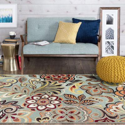 Tayse Deco Dilek Rectangular Indoor Rugs