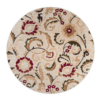 Tayse Laguna Wichita Round Indoor Area Rug