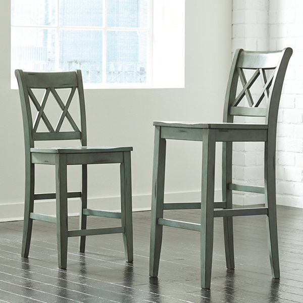 Signature Design by Ashley® Madison Set of 2 Counter Height Bar Stools