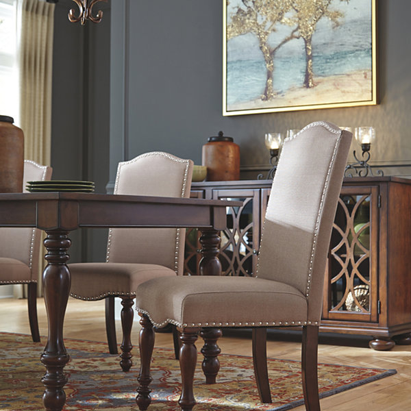Signature Design By AshleyR Merrimack Set Of 2 Upholstered Dining Chairs