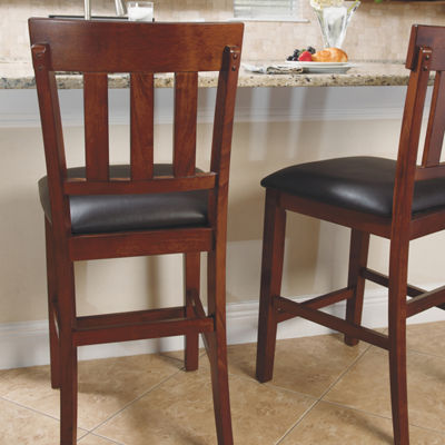 Signature Design by Ashley® Essex Set of 2 Counter Height Upholstered Bar Stools