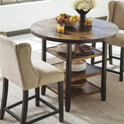 Signature Design by Ashley® Moriann Set of 2 Counter Height Upholstered Bar Stools