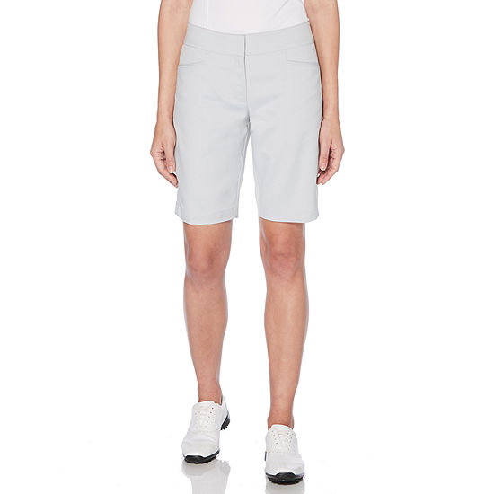 PGA TOUR Womens Mid Rise Golf Short