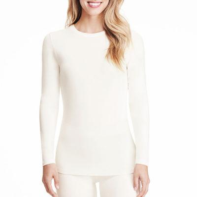 Cuddl Duds® Softwear Long-Sleeve Crewneck T-Shirt
