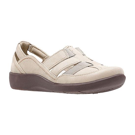 1c74339b2b7 Clarks Sillian Stork Womens Slip On Shoes JCPenney