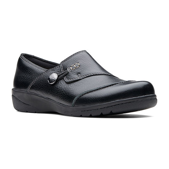 Clarks Womens Cheyn Misha Slip-On Shoe Round Toe