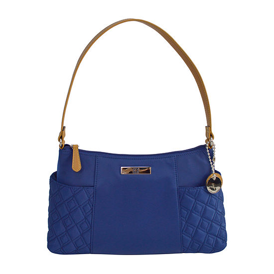 Liz Claiborne Mackenzie Top Zip Shoulder Bag