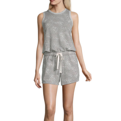 Ambrielle Sleeveless Animal Romper