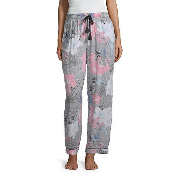 Ambrielle Womens Poplin Pajama Pants