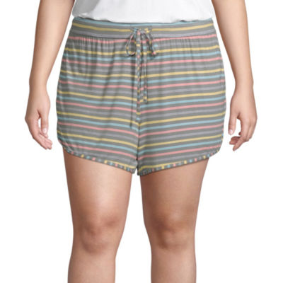 Ambrielle Womens - Plus Pajama Shorts
