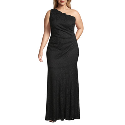 One By Eight Sleeveless Fitted Gown-Juniors Plus