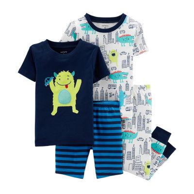 Carter's 4-pc. Pant Pajama Set Baby Boys