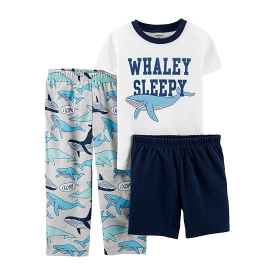 Carters 3 Pc Pant Pajama Set Baby Boys