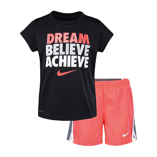 Nike Girls 2-pc. Short Set